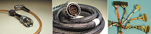 Custom Cable Assemblies and Custom Cable Harnesses, Round, Ribbon ...